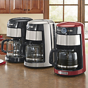 14 cup glass carafe coffeemaker by kitchenaid