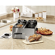 Chef Tested ® 7-qt. Dual Deep Fryer by Montgomery Ward ®