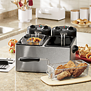 chef tested 7 qt dual deep fryer and replacement filters by montgomery ward