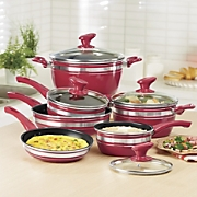 Chef Tested 10-Piece Nonstick Aluminum Cookware Set by Montgomery Ward
