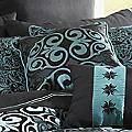 Kismet Woven Jacquard Square Pillow