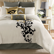 Aviana 10-Piece Bed Set, Pillows & Window Treatments