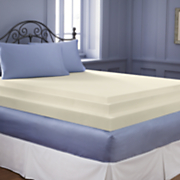 2 inch sleep connection viscose memory foam topper by montgomery ward