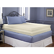 3 Inch Sleep Connection Viscose Memory Foam Topper by Montgomery Ward