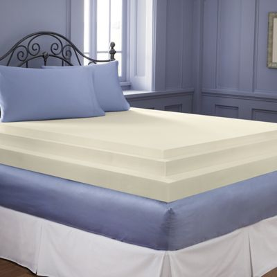 3 Inch Sleep Connection Viscose Memory Foam Topper By