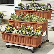 set of 3 patio garden planters