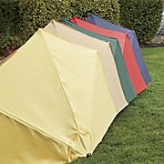 Half Round Market Umbrella