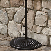 Half Round Umbrella Base