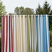 striped grommet panel