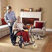 Lightweight Folding Transport Chair