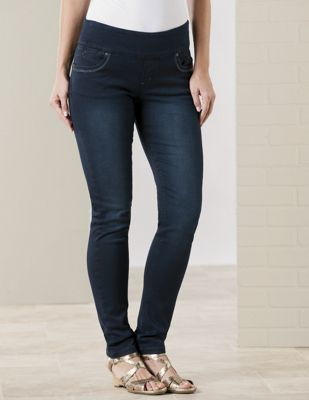 Anna Pull-On Skinny Jean by Lola