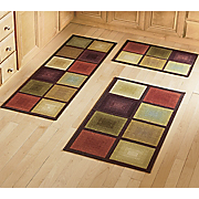 optics 3 pc rug set