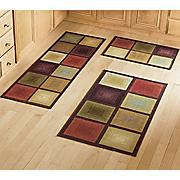 optics 3 pc rug set