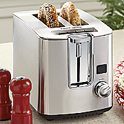 Black and Decker 2 Slice Toaster with LED Display