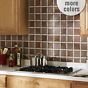 self stick backsplash tiles medallion
