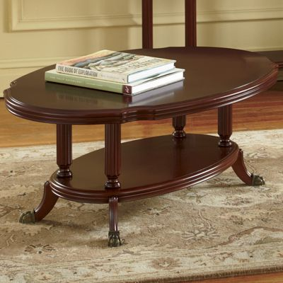 Montgomery Ward Golden Age Clawfoot Coffee Table From Through The Country Door 452498