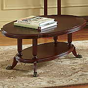 Montgomery Ward Golden Age Clawfoot Coffee Table