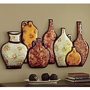 grand canyon river vase wall art