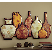 grand canyon river vase wall art