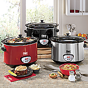 Chef Tested 8.5-Qt. Digital Slow Cooker by Montgomery Ward