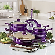 Chef Tested ® 9-Piece Metallic Cookware Set by Montgomery Ward®