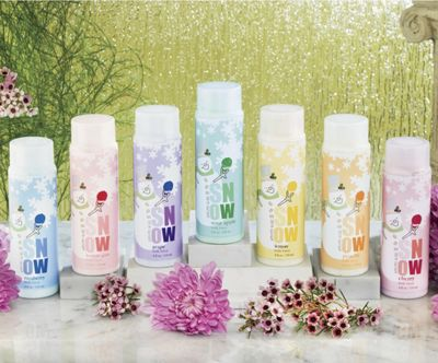 7-piece Scented Slush Snowman Shower Gel Set