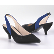 Monroe & Main Two-Tone Slingback
