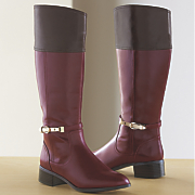 Monroe & Main Two-Tone Riding Boot