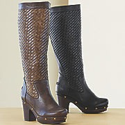 Basket Weave Boot