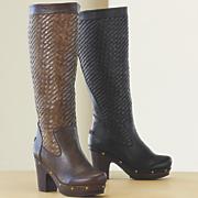 Basket Weave Boot