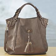 front tassel bag