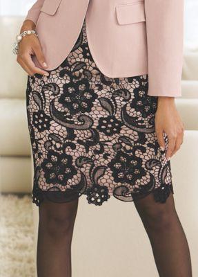 Gala Lace Skirt