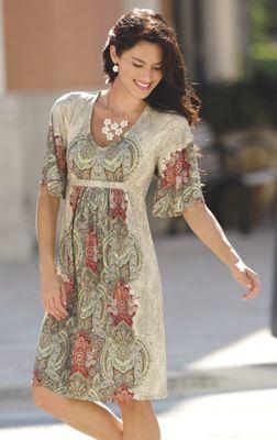 Moroccan Panel Dress