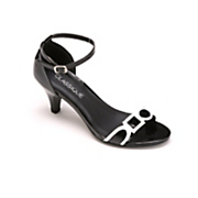 geometric ankle strap by classique