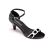 geometric ankle strap by classique