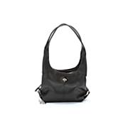 3-Section Leather Handbag