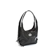 3 section leather handbag