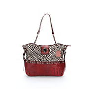 carly zebra bag by marc chantal