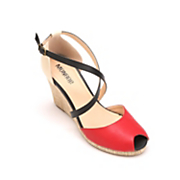 Monroe & Main Colorblock Wedge