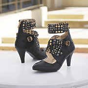 Monroe & Main Studded Buckle Shootie