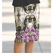 preda pattern skirt 36