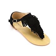 Monroe & Main Fringed Thong Sandal