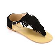 fringed thong sandal by monroe main