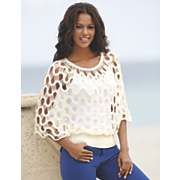 Crochet Dolman Sweater