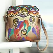 hand painted southwestern sidebag