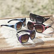 geometric detail sunglasses