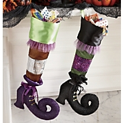 Witch Boot Stocking