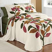 Ginny's Brand Sonesta Chenille Bedspread and Sham