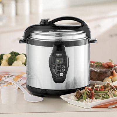 Nesco 6-qt. Digital Pressure Cooker