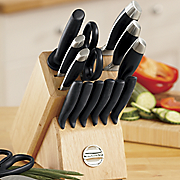 17 pc Knife Set By Kitchenaid